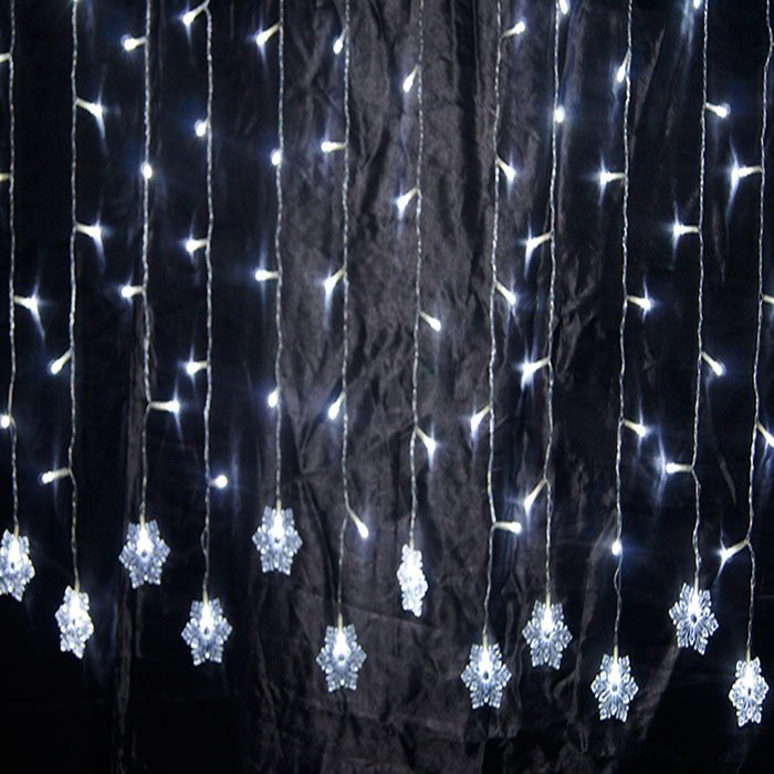 CE &RoHs Approved Fairy LED Icicle Lights with Transparent Wire for Outdoor/Party/Wedding Lighting