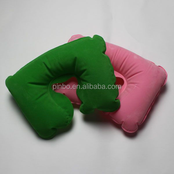 Oem inflatable wedge travel pillow