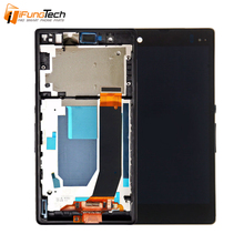 100% Tested Original Mobile Phone LCD Dispaly for Sony Xperia Z C6603 L36H LCD with Touch Screen Digitizer Assembly