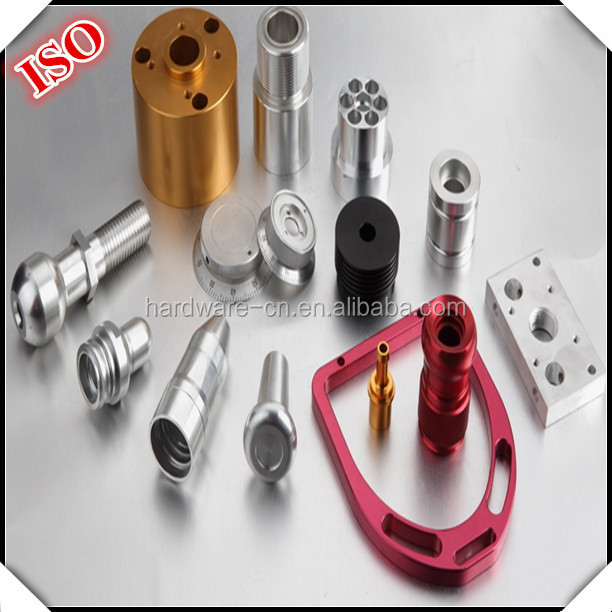 Precision Furniture Machinery metal Hardware with colorful oxidation