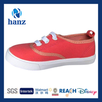 fashion children latest canvas shoes red sport casual girls leisure shoes