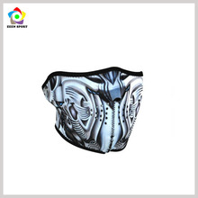 Factory customized neoprene driving face mask