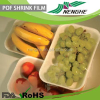 polyolefin shrink film plastic film used for foods packaging