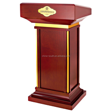 Multifunction wooden speaker stand podium rostrum