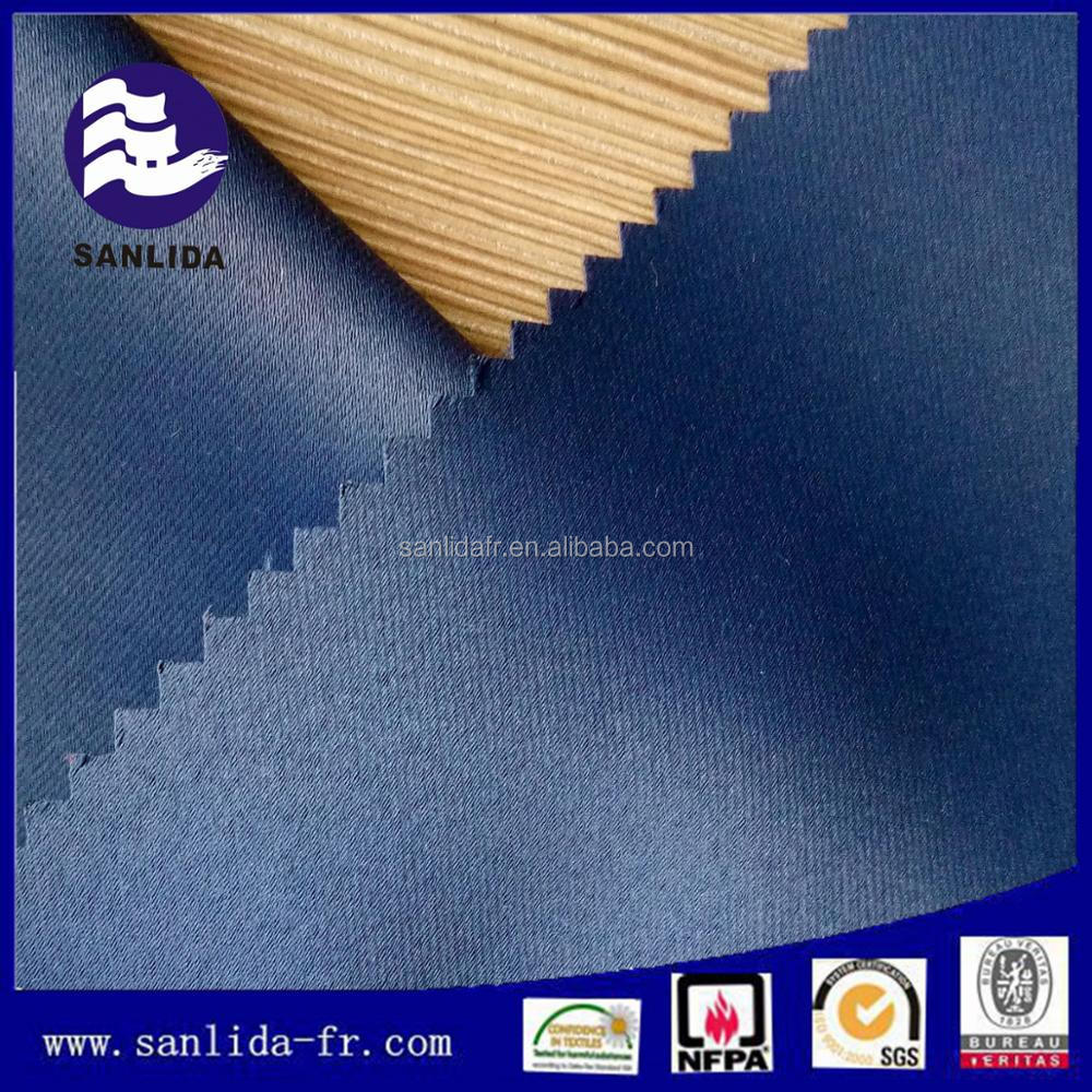Online shopping IFR flame retardant fabric 100 percent polyester fabric