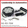 6.5 inch 6500K 60 degree flood beam automotive CREE LED work light