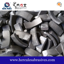 China Diamond tools of drilling core bit segments for Reinforced Concrete, Asphalt