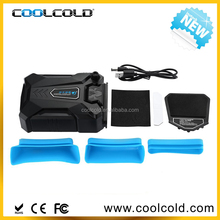Coolcold portable new gaming laptop vacuum fan, hot sale laptop notebook cooler