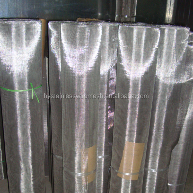 Manufacturer spot supplies ISO9001 stainless steel wire fine mesh screen