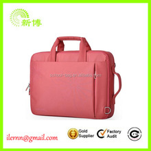 Good quality cheap price leather laptop bag