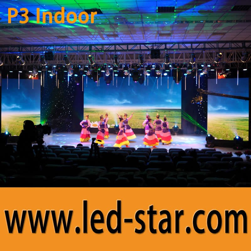 South Africa importing indoor P3 die-casting aluminum giant led screen