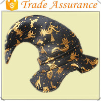 EN71 Jersey together 3mm sponge gold foil printing halloween witch hat