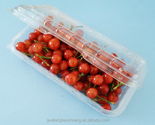 FDA Approval Custom-Made Fruit Packaging Wholesale Clear Plastic Container With Lid