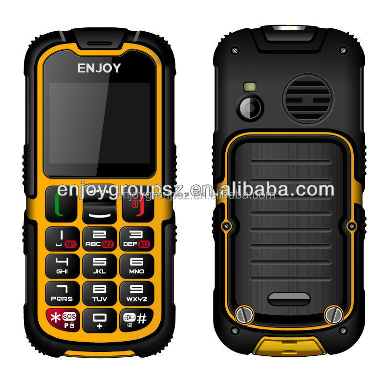 Bar style k tech phones rugged waterproof IP67 W28