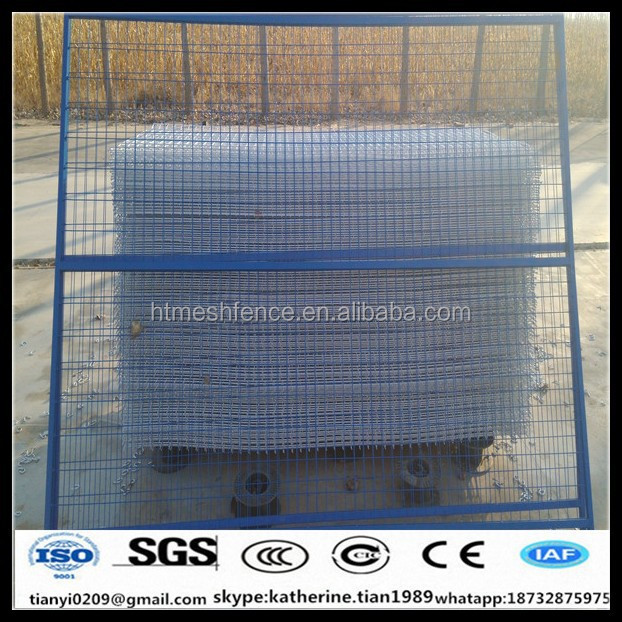 6ft Temporary Construction Metal Fence privacy Panels In Canada