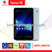 Windows 7/XP OS tablet cheapest 9 inch tablet pc