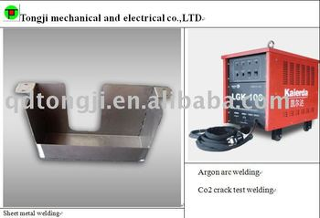stainless steel/sheet metal welding