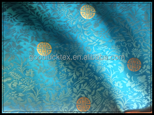 brocade jacquard fabric silk