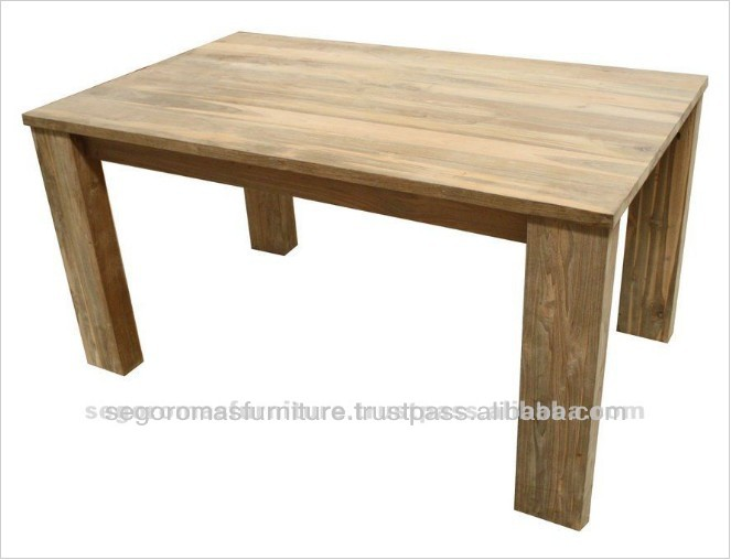 High Quality Luxio Antique Solid Teak Wooden Dining Table