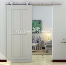 Stainless Steel Dual Wheel Wooden Door hardware