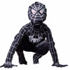 Newest! Black Spiderman Costume Adult Halloween Costumes For Baby Spandex Carnival Cosplay Bodysuit Zentai Spider Man
