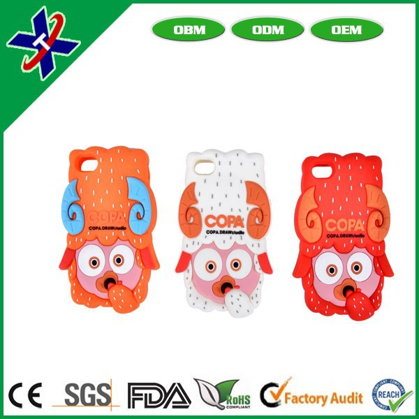 Top quality new design Silicone Mobile Phone Covers, Phone Cases
