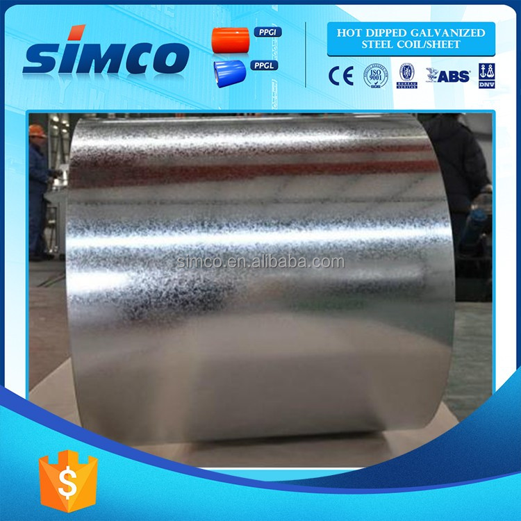 Top sell hot dipped full hard galvanized steel coil