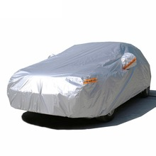Wholesale Alibaba Waterproof Sun Protection Heat Resistant Aluminum Polyester Car Cover