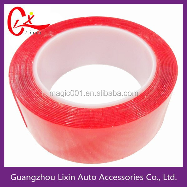 Super strong adhesive clear VHB double sided adhesive and tape for glass indoor and outdoor
