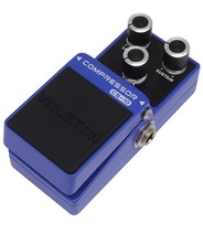 Compressor guitar effect pedal