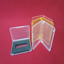 Professional gift color plastic pp hard cards box