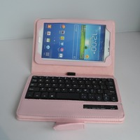 touch screen wireless keyboard case for sumsung P3200