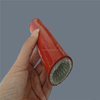 Silicone rubber laminated fiberglass fire sleeve manufacturer