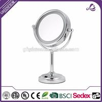 Toy makeup table with mirror Dressing led bathroom LED table cosmetic Mirror with CE certificate