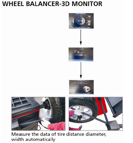 cheap wheel balancing machine