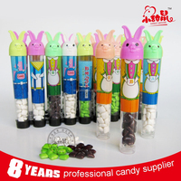 Rabbit Shape Bubble Gum / Chewing Gum in Tube