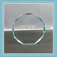 2013 new design cheap and sport crystal glass trophies