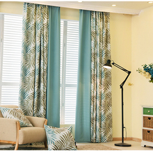Newest window treatment Germany printing blackout curtain drapery