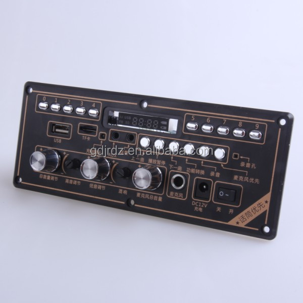 JRHT-639 audio amplifier parts with USB/TF