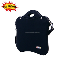 "hight quality 15"" neoprene messenger laptop bag with shoulder strap for men"