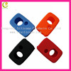 Promotional silicone rubber silicone black color cool key cover for toyota key case