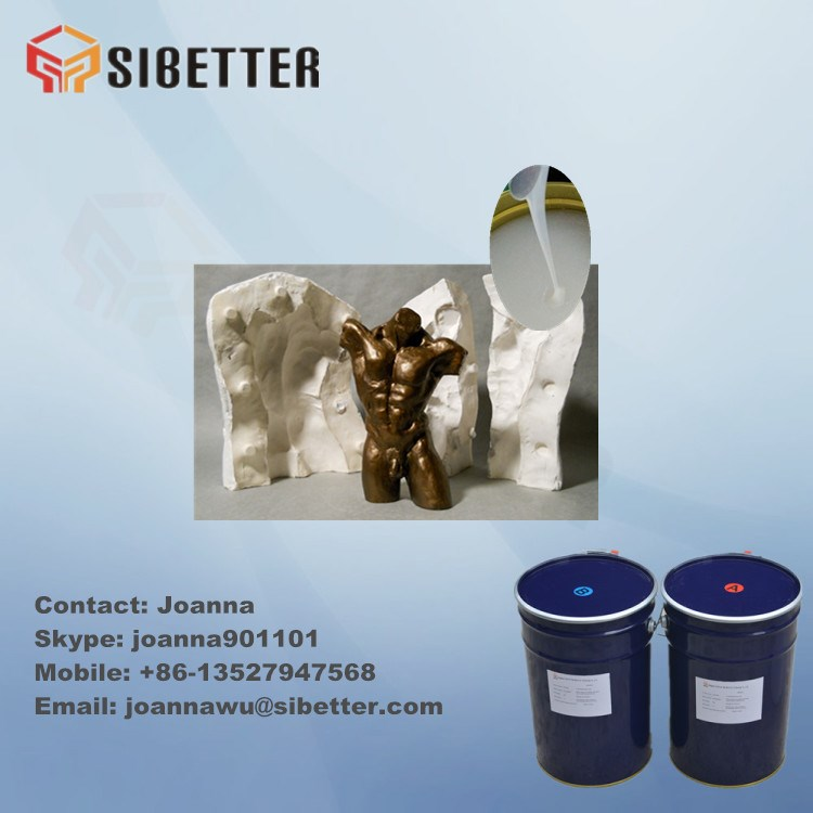 Hot Sell RTV2 Mould Liquid silicone rubber for Resin Products