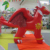Customized Cartoon Type Inflatable Flame Dragon For Sale