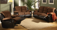 Leather Soft Sofa Set Recliner Chair Seating Sofa Chair (FOH-SF2508F )