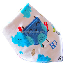 Wholesale Upmarket embroidery baby bib cotton bibs