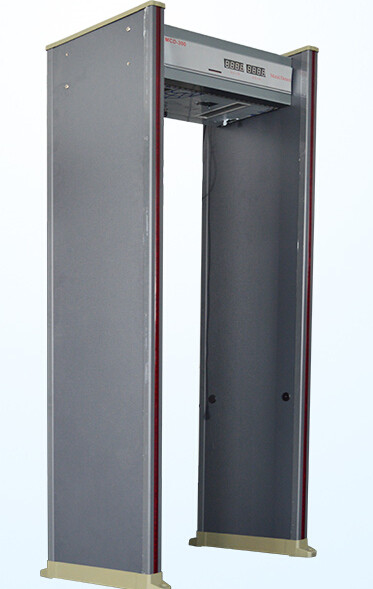 Multizone high sensitivity walkthrough metal detector door waterproof walkthrough metal detector