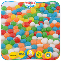 New product licorice flavor jelly bean small ball cheap display candy bulk