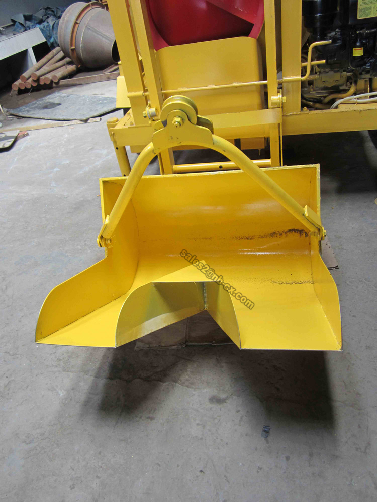 JZC350-DHL Top Quality Concrete Mixer with Lift