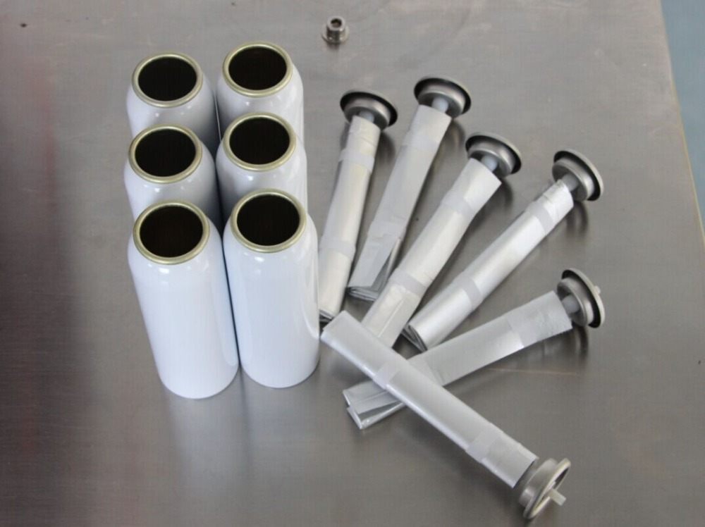 Aluminum Cans for Bag On Valve Cosmetic Sprays