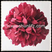 2016 hot new products paper pompom origami
